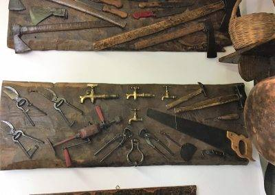 Particolare Piccolo Museo Civiltà contadina Tenuta Bocchineri 2