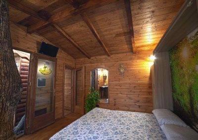 Casa sull albero_camera da letto