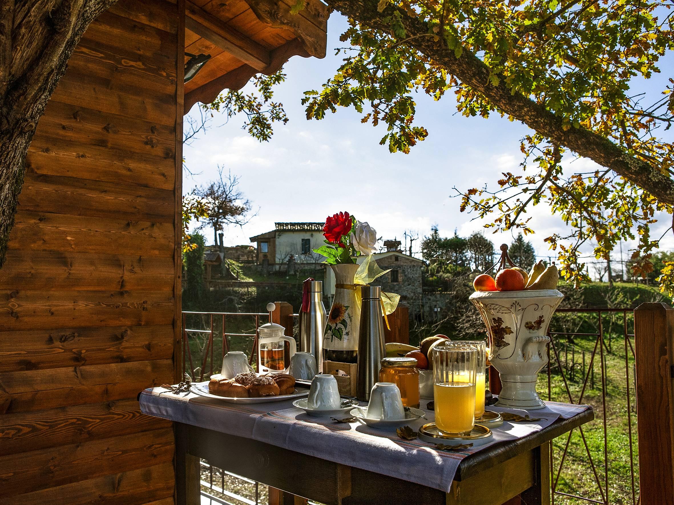 Casa sull'Albero Calabria: Prima colazione