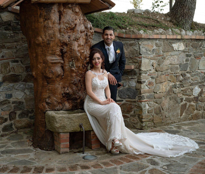 Tenuta Bocchineri_Sposi con Fontana