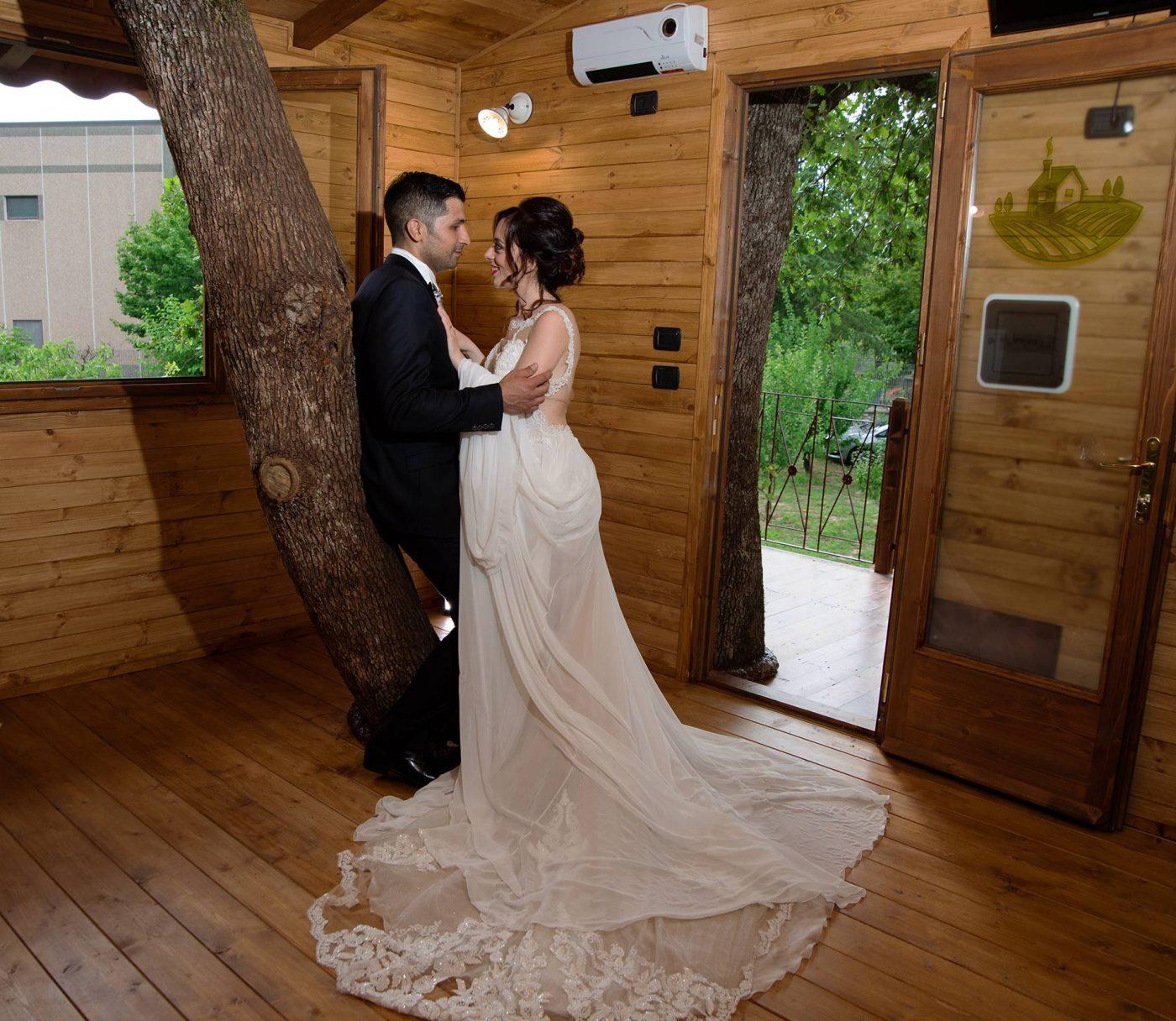 Tenuta Bocchineri_Sposi nella Casa sull'Albero